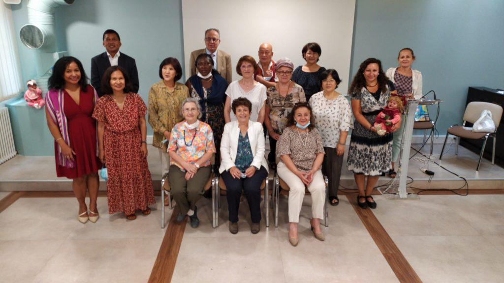 conférence sur la femme et la spiritualité FFPM espace barrault