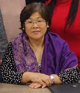 Hisako Moulinet vice-présidente Fédération des Femmes pour la Paix Mondiale France