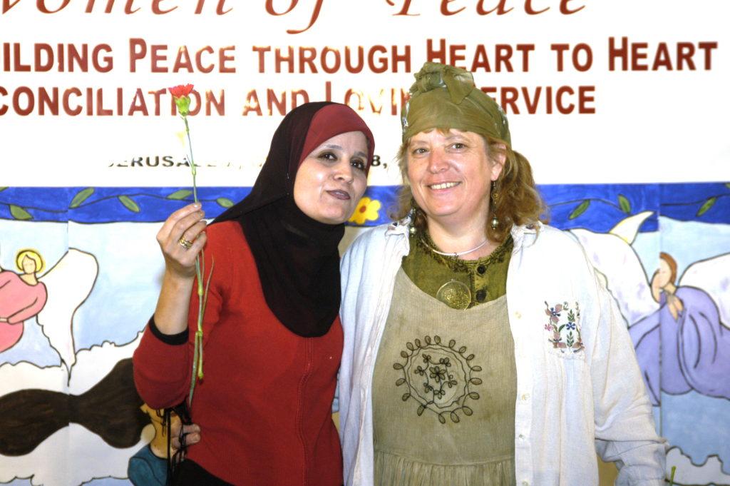Pont de la paix - palestine-israel- Fédération des Femmes pour la Paix Mondiale